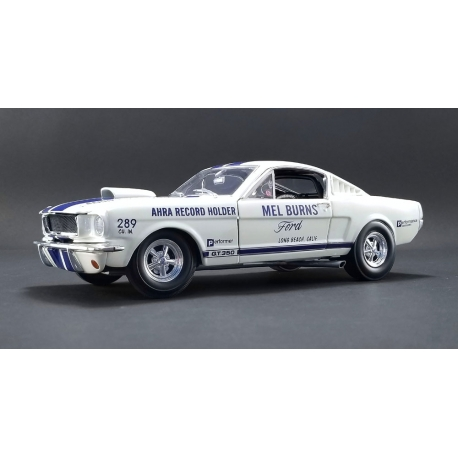 Shelby GT350 - Mel Burns (White w/ Blue Stripes) (1965)