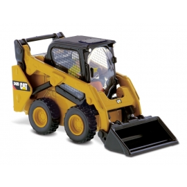 Cat® 242D Skid Steer with 3 Removable Attachments