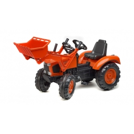 "Kubota M135GX Pedal Tractor with Front Loader & ""Quiet Tyres"""