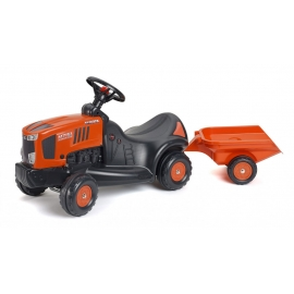 Kubota M7151 Push-Along Tractor with Trailer