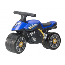 New Holland Push-Along Motorcycle