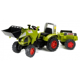Claas Arion 540 Pedal Tractor with Front Loader & Trailer