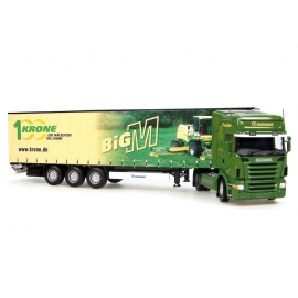 "Scania R580 with Krone ""Big M"" Trailer"