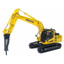 Komatsu PC210LC-10 Hydraulic Crawler Excavator with Breaker