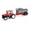 CASE IH Tractor with Tanker Trailer Building Block Kit