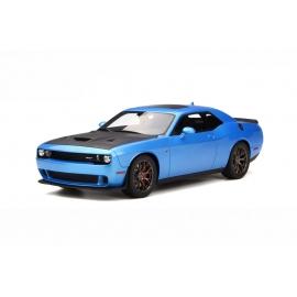 Dodge Challenger Hellcat (Blue & Matt Black) (2017) - RESIN MODEL