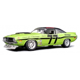Dodge Challenger Trans Am - 77 Sam Posey (Lime Green with Black Roof) (1970)