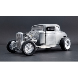 Ford 5 Window Hot Rod (Hammered Steel) (1932)