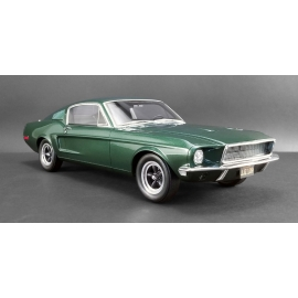 """Bullitt"" - Ford Mustang GT (Highland Green) (1968) - RESIN MODEL"
