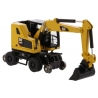 Cat® M323F Railroad Wheeled Excavator with Three Attachments (Safety Yellow)