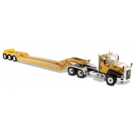 Cat® CT660 Day Cab with XL120 Low-Profile HDG Trailer