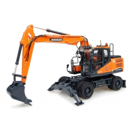 Doosan DX140w Wheeled Excavator