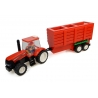 CASE IH Tractor with Hopper Trailer Building Block Kit