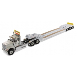 International® HX520 Tandem Tractor with XL120 Low-Profile HDG Trailer (White)