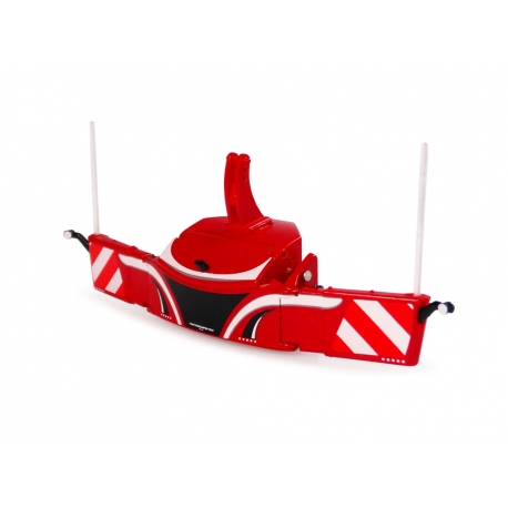 Front Bumper Counterweight 800 kg (Red)