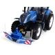 Front Bumper Counterweight 800 kg (Blue)