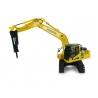 Komatsu PC210LC-11 Hydraulic Excavator with Hammer Drill