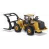 Cat® 972M Wheel Loader with Log Fork
