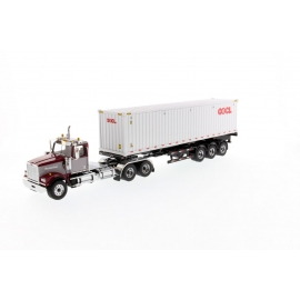 Western Star® 4900 SF Day Cab Tandem Tractor with 40' Dry Goods Sea Container