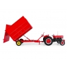 Massey Ferguson MF21 3.5 Ton Hydraulic Tipping Trailer with Silage Extension Sides
