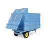 "Weeks ""Convert"" 3.5 Ton Hydraulic Tipping Trailer with Silage Extension Sides"