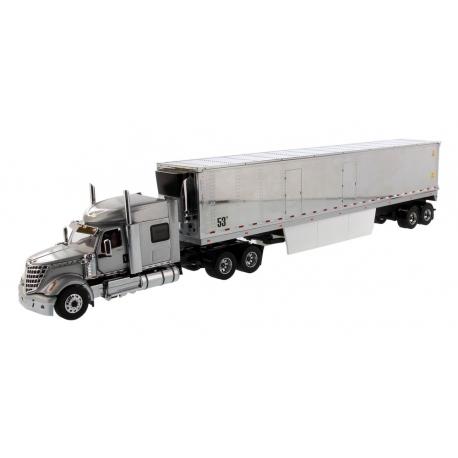 International® Lonestar® Sleeper (Grey) with 53' Refrigerated Van
