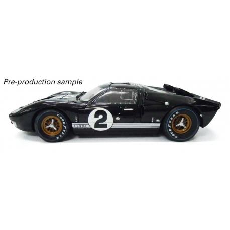 Ford GT40 Mk II 1966 Le Mans 24hrs - 1st Place 2 Bruce McLaren & Chris Amon (Black)