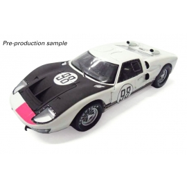 Ford GT40 Mk II 1966 Daytona 24hrs - 1st Place 98 Ken Miles & Lloyd Ruby (White & Black)