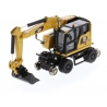 Cat® M323F Railroad Wheeled Excavator with Three Attachments (CAT Yellow)