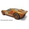 Ford GT40 Mk II 1966 Le Mans 24hrs - 3rd Place 5 Ronnie Bucknum & Dick Hutcherson (Gold) [Post-race Dirty Version]