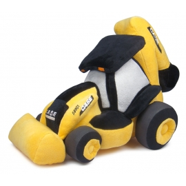 CASE CE 580 ST Backhoe Loader Plush Toy