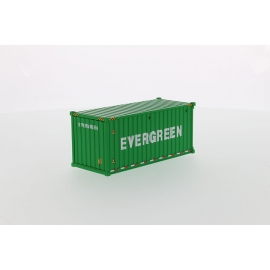 20' Dry Goods Sea Container-Red