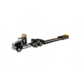 International HX520 Tandem Tractor & XL120 Trailer (Black)