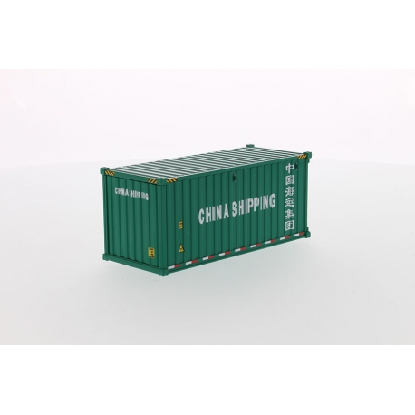 20' Dry Goods Sea Container-White
