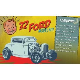 Ford Three Window Diecast Kit - 1932